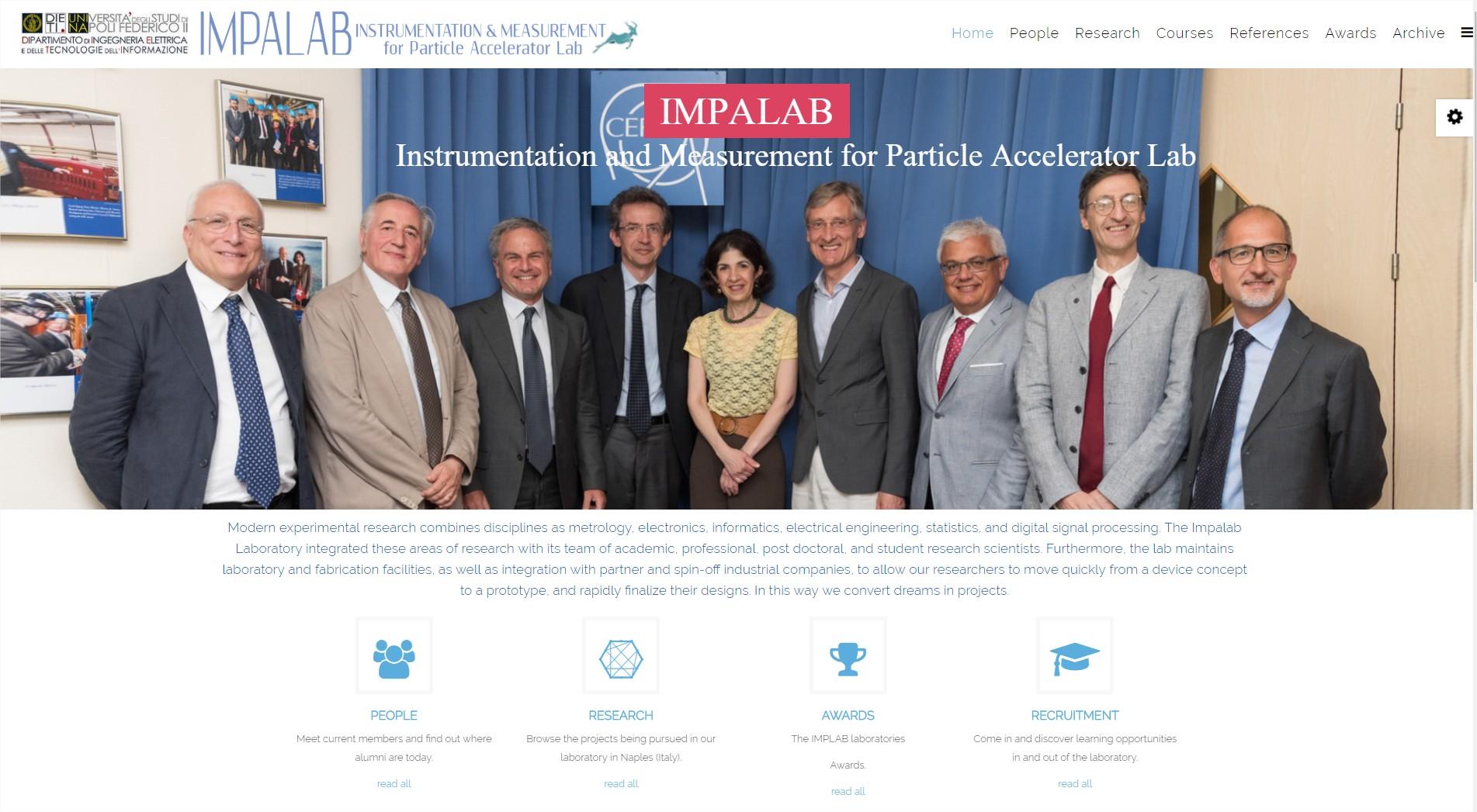 Click per accedere al sito IMPALAB